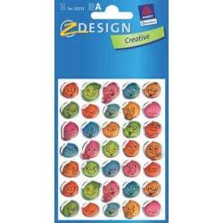 ZDesign Ζ Design Αυτοκολλητα Kids Κρυσταλάκι Φατσούλες 55232 4004182552322