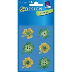 ZDesign Ζ Design Αυτοκολλητα Creative Τριφύλια 55643 4004182556436