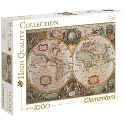 Clementoni Παζλ 1000τεμ. High Quality Χάρτης Αντίκα 1220-31229 8005125312290