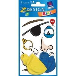ZDesign Αυτοκόλλητα Ζ Design Για διακόσμηση + Μπαλόνια 55719 4004182557198