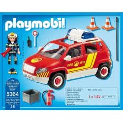 Playmobil Όχημα Αρχιπύραρχου με φάρο και σειρήνα 5364 4008789053640
