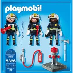 Playmobil Τρεις Πυροσβέστες 5366 4008789053664