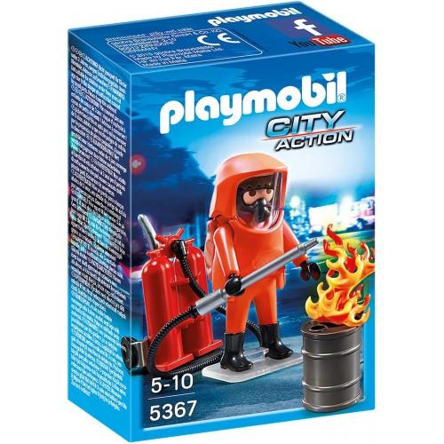 Playmobil Πυροσβέστης ειδικών δυνάμεων 5367 4008789053671