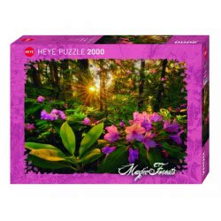 HEYE Παζλ 2000 Magic Forests - Ροδόδεντρο 29662 4001689296629