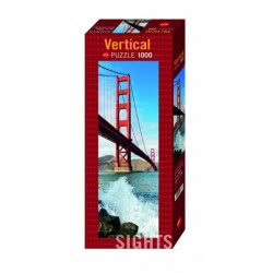 HEYE Παζλ 1000 Sights Vertical - Golden Gate Bridge, San Francisc 29669 4001689296698