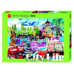 HEYE Παζλ 1000 City Life - I love London! 29682 4001689296827