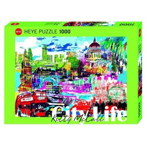 HEYE Παζλ 1000 City Life - I love London! 29682 4001689296827