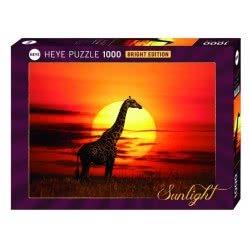HEYE Παζλ 1000 Sunlight - Καμηλοπάρδαλη 29688 4001689296889