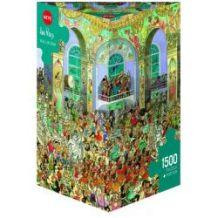 HEYE Παζλ 1500 Cartoon (τρίγωνο κουτί) Prades - Αίθουσα χορού 29696 4001689296964