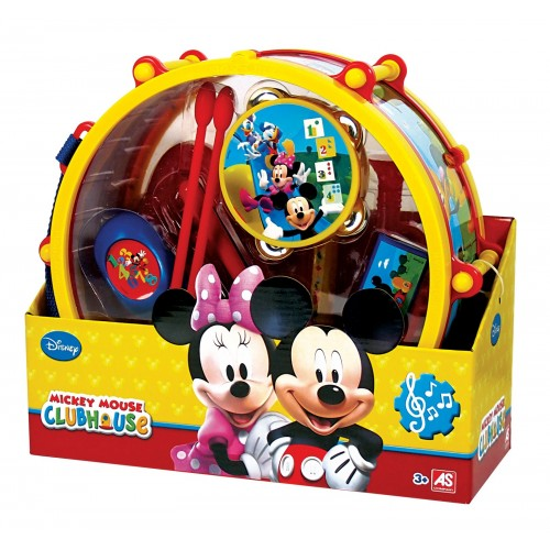 As company MICKEY MOUSE CLUBHOUSE ΣΕΤ ΤΥΜΠΑΝΟ MMCH 6010-11081 5203068110819