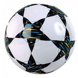 As company Μπάλα Ποδοσφαίρου Δερμάτινη Color Stars 5001-51013 5203068510138