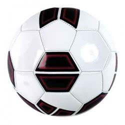 As company Μπάλα Ποδοσφαίρου Δερμάτινη Shapes 5001-51014 5203068510145