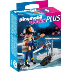 Playmobil Special Plus Πυροσβέστης με μάνικα 4795 4008789047953