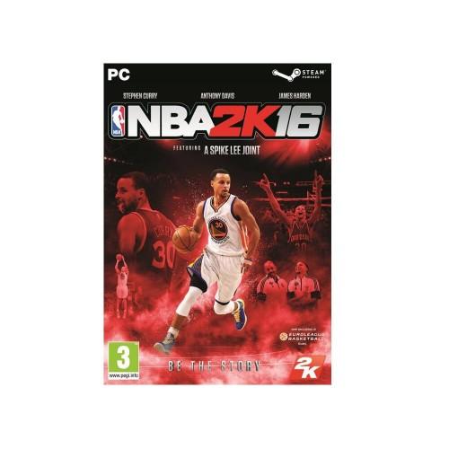 2K Games Pc NBA 2K16 (Greek Code In A Box) 5026555064804 5026555064804