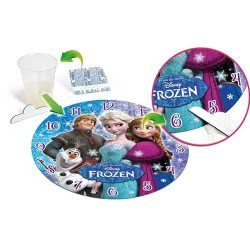 Clementoni Παζλ 96 τεμ. Disney Frozen Ρολόι φωσφορούχο 1211-23021 8005125230211