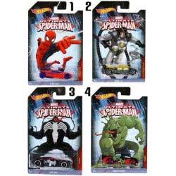 Mattel HOT WHEELS HEROES SPIDERMAN AYTOKINHTAKIA CMJ79 887961157529