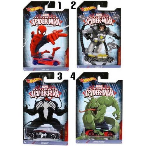 Mattel Hot Wheels Heroes Spiderman Αυτοκινητάκια CMJ79 887961157529