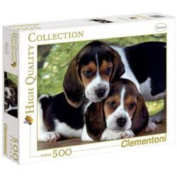 Clementoni Παζλ 500τεμ. Ηigh Quality Σκυλάκια 1220-30289 8005125302895