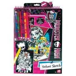 As company Monster High Summer 2011 Σετ Ζωγραφικής Σε Βελούδο Monster High 1023-59890 5203068598907