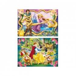 Clementoni ΠΑΖΛ 2Χ20 S.C. Disney Ραπουνζέλ & Χιονάτη 1200-24738 8005125247387