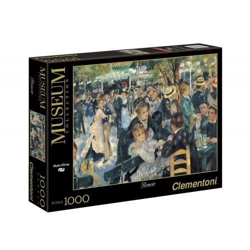 Clementoni Παζλ 1000 τεμ. Museum Collection Χορός Renoir - Bal du Moulin de la Galette - Musee D`Orsay 1260-31412 8005125314126