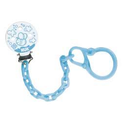 NUK Αλυσίδα πιπίλας DUO Baby Blue 10750590 4008600147756