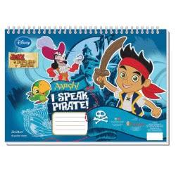Diakakis imports Μπλοκ Ζωγραφικής Jake The Pirate 40 Φύλλα 0561171 5205698171772