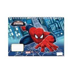 Diakakis imports Μπλοκ Ζωγραφικής Spiderman 40 Φύλλα 0500734 5205698172885