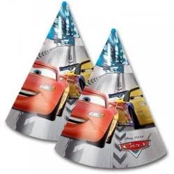 PROCOS Χάρτινα Καπέλα CARS RACERS 6 τμχ. 080490 5201184804902
