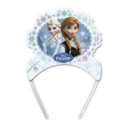 PROCOS Τιάρες / Στέμα Frozen Disney 6 Τεμάχια 85968 5201184859681