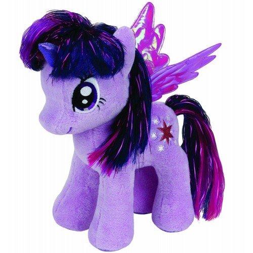 ty Beanie Babies Χνουδωτό My Little Pony Twilight Sparkle 15εκ. 1607-41004 008421410040