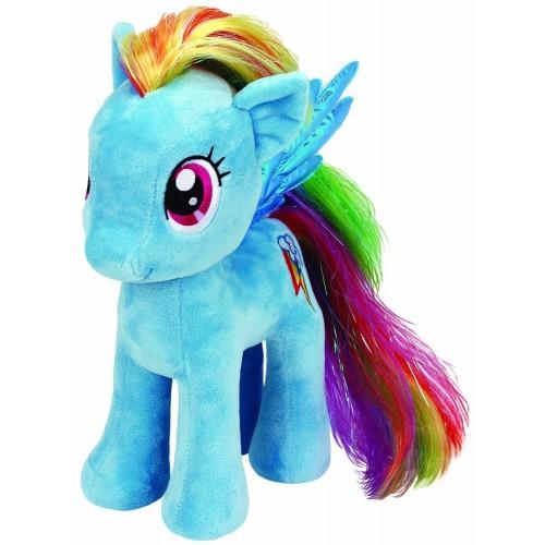 ty Beanie Babies Χνουδωτό My Little Pony Rainbow Dash 23εκ. 1607-90205 008421902057