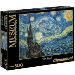 Clementoni Παζλ 500τεμ. High Quality Museum Collection Van Gogh Starry Night 1220-30314 8005125303144