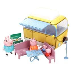 GIOCHI PREZIOSI Peppa Pig Τροχόσπιτο Camper Van Set GPH02256 8005163225606