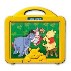 Clementoni Παζλ Κύβοι 12Τεμ Winnie The Pooh 1100-41337 8005125413379