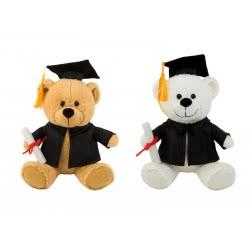 Christakopoulos Λούτρινο Αρκουδάκι Αποφοίτηση σε 2χρώματα 25εκ 1850 5212007512652