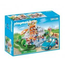 Playmobil Αναψυκτήριο Καφέ & Κάμπριο 5644 4008789056443