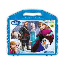 Clementoni 12 ΚΥΒΟΙ Disney Frozen 1100-41410 8005125414109