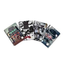 shape notebooks Τετράδιο Σπιράλ Moustache Β5 Τριών Θεμάτων B53MOUSTACHE 5200399805834