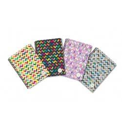 shape notebooks Τετράδιο Σπιράλ Paterns Β5 Τεσσάρων Θεμάτων B54PATERNS 5200399805940
