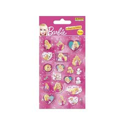 PANINI Αυτοκόλλητα Barbie Party Stickers 75843001 8018190063486