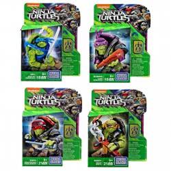 MEGA BLOKS Φιγούρες Χελωνονιντζάκια Ninja Turtles TMNT Out Of The Shadows - 7 Σχέδια DPW12 / ASST 887961326543