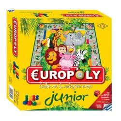 ΕΠΑ Επιτραπέζιο  Europoly Junior 03-211 5201740032114