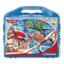 Clementoni Παζλ Κύβοι 12 Disney Planes 1100-41172 8005125411726