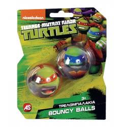 As company Τρελομπαλάκια 2τεμ Χελωνονιτζάκια Bouncy Balls 5202-14001 5203068140014