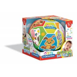 As company Baby Clementoni Μαλακή Μουσική Μπάλα 1000-17109 8005125171095
