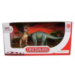 Toys-shop D.I Benteng Dinosaurs Τυρανόσαυρος Και Βραχιόσαυρος Σετ JZ042221 5202015422210