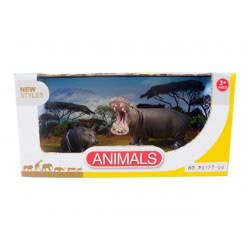 Toys-shop D.I Benteng Animals Ιπποπόταμοι Σετ JZ042261 5202015422616