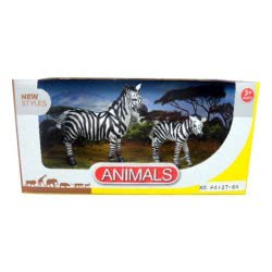 Toys-shop D.I Benteng Animals Ζέβρες Σετ JZ042271 5202015422715