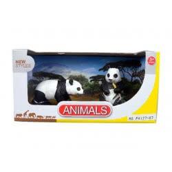 Toys-shop D.I Benteng Animals 2 Panda Σετ JZ042292 5202015422920